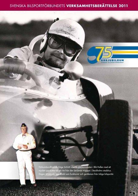 verksamhetsberättelse 2011 - Svenska Bilsportförbundet