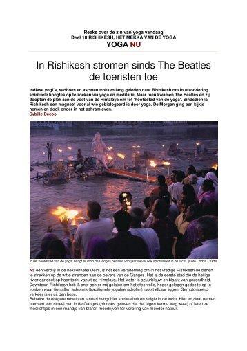 Deel 10: Rishikesh, het Mekka van de Yoga