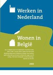 Werken in Nederland, wonen in Belgie - Expatax