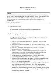 verslag - Gemeente Kapellen