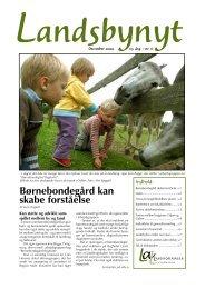 Børnebondegård kan skabe forståelse - Hornum og Omegn