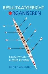 deel publicatie - Resultaatgericht Organiseren