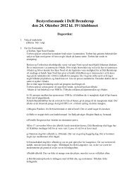 Læs referat fra bestyrelsesmødet d. 24. okt. 2012