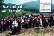 Tijdens de val van Srebrenica in 1995 werden op de ... - Scoop
