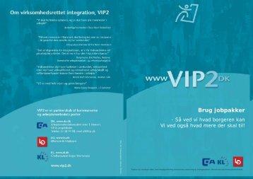 De enkelte jobpakker.pub - VIP 2 på nettet