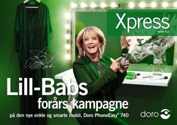på den nye enkle og smarte mobil, Doro PhoneEasy® 740