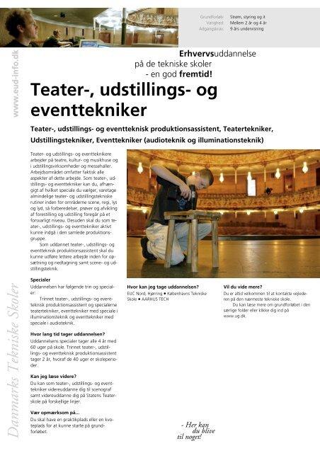 Teater-, udstillings- og eventtekniker