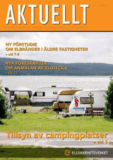 Aktuellt nummer 3/2012 - Elsäkerhetsverket