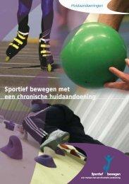 Sportief bewegen met een chronische huidaandoening - Sportzorg