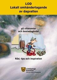 LOD Lokalt omhändertagande av dagvatten - Osby Kommun