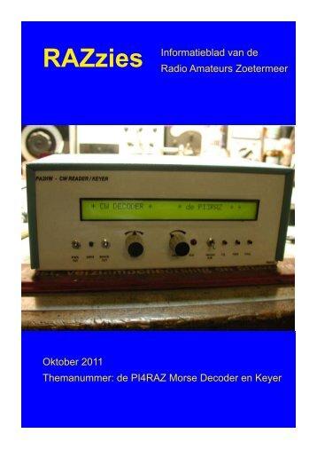 Oktober - de PI4RAZ website