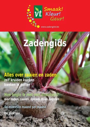 Download een PDF-versie van de zadengids - VT Zaden