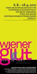 Einladung Wiener Glut zum Download - Kunst im Tunnel