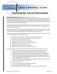Preventing Slip, Trip and Fall Accidents