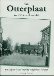 Van Otterplaat tot Groenveldsweid, jaargang 2010 - Stichting ...