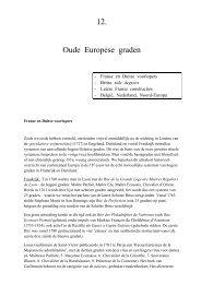 12. Oude Europese graden