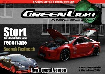 Sveriges största E-tidning i sitt slag - GreenLight Magazine