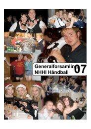 GF 2007 - NHHI Håndball
