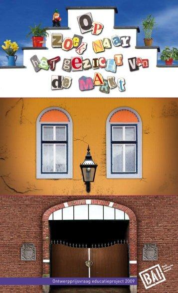 Ontwerpprijsvraag educatieproject 2009 - BAI
