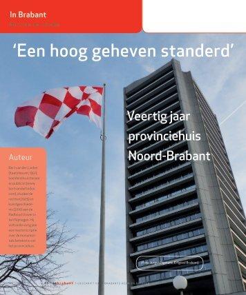 'Een hoog geheven standerd' - Thuis in Brabant