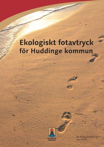 Ekologiskt fotavtryck - Huddinge kommun