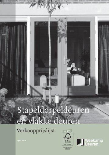 Stapeldorpeldeuren en vlakke deuren - Hormes Hout & Plaat bv