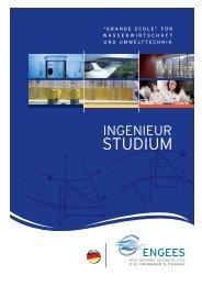 brochüre ingenieurstudium - ENGEES