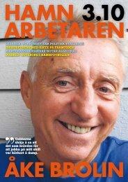 Hamnarbetaren_2010-3.pdf - Svenska Hamnarbetarförbundet