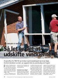 Så let er det at udskifte vinduerne Så let er det at udskifte ... - Elgum.dk