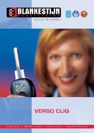 Verso Cliq cilinder - Blankestijn Beveiliging