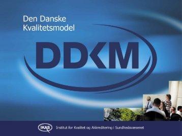 Den Danske Kvalitetsmodel - DMCG-PAL