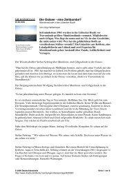 Die Ostsee - eine Zeitbombe? - Umwelt-Technik-Metallrecycling ...