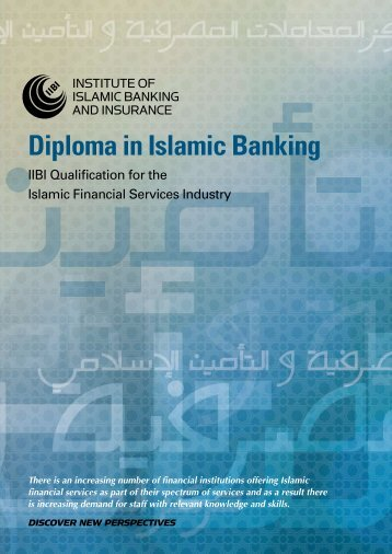 Diploma in Islamic Banking - Institute of Islamic Banking and Insurance