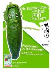 Hé komkommer, doet het pijn als ik in je bijt? - 1 -