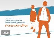 Samarbetsguide för studerandeprojekt inom konst och kultur