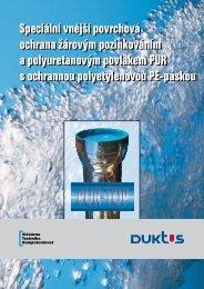 Vnější ochrana trub, PUR-TOP - DUKTUS litinové systémy sro