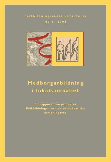 Medborgarbildning förord kap 1.pdf - Pedagogiska Resurser ...