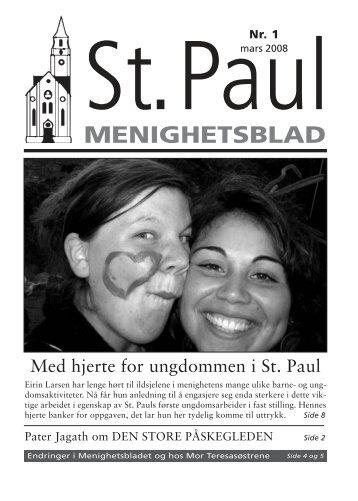 Paul blad 05 2 (Page 1) - St. Paul Menighet - Den katolske kirke