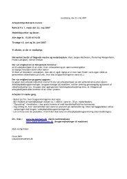 Arbejdsmiljø-Netværk murere Referat fra 1. møde den 22. maj 2007 ...