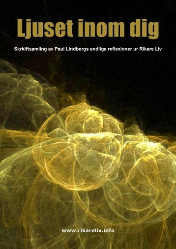 www.rikareliv.info Skrkiftsamling av Paul Lindbergs andliga ...