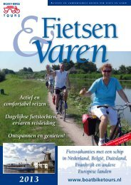 per fiets en schip