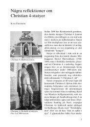 Några reflektioner om Christian 4-statyer - Föreningen Gamla ...