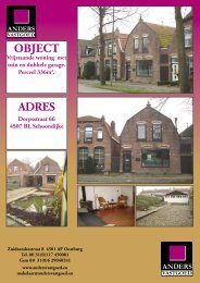 OBJECT ADRES - Anders Vastgoed
