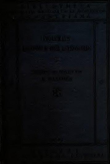 Des Claudius Ptolemäus Handbuch der astronomie ..
