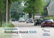 Bijlage 2 Landschapsplan Rondweg Voorst N345 - Gemeente Voorst