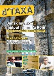 Dansk musiker hjulpet hjem fra Rom - Taxa Selandia