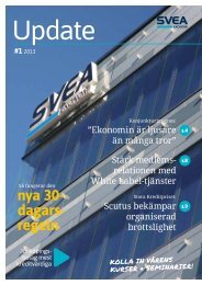 Mars 2013 - Svea Ekonomi