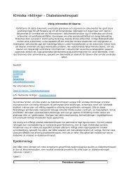 Kliniska riktlinjer_ Diabetesretinopati - Sveriges ögonläkarförening