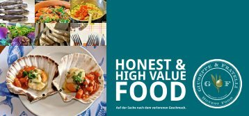 Honest & High Value Food