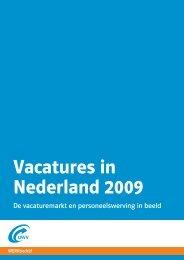 Vacatures in Nederland 2009